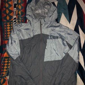 Under Armour rain jacket wind breaker NWT